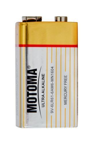 MOTOMA Alkalická baterie 9V