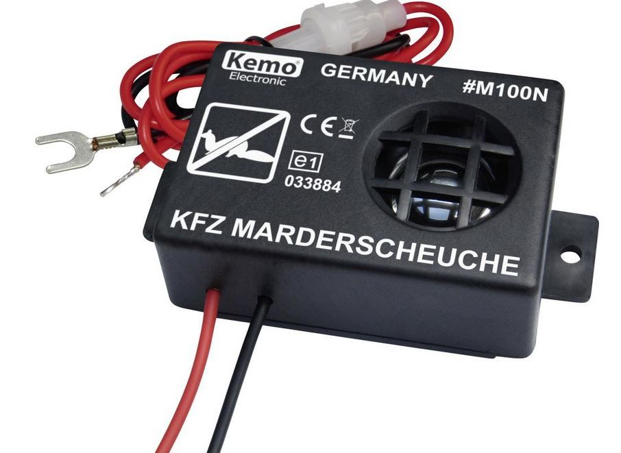 Kemo M100N - Ultrazvukový odpuzovač kun a hlodavců do auta