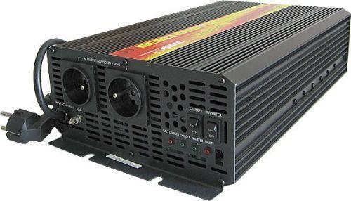 Měnič napětí Carspa EPS2000-12 12V/230V 2000W s nabíječkou 12V/15A a funkcí EPS