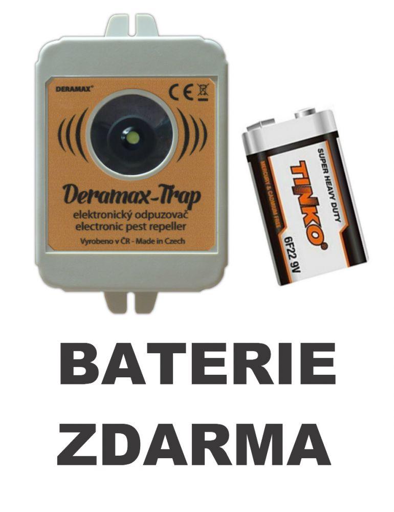 Deramax®‐Trap - Ultrazvukový odpuzovač‐plašič divoké zvěře