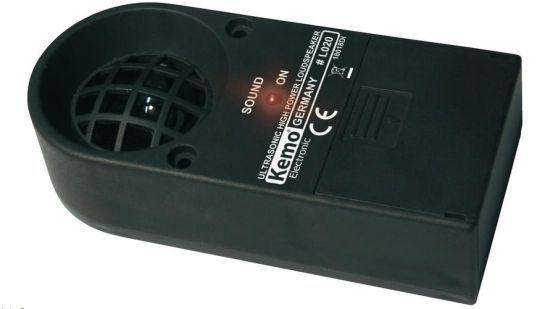 Ultrazvukový reproduktor pro odpuzovač zvířat Kemo L020