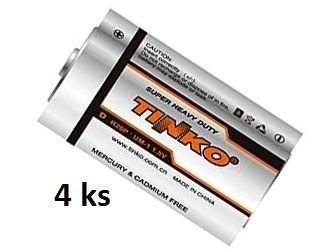 Sada baterií pro Deramax Cvrček - ZnCl bateri D