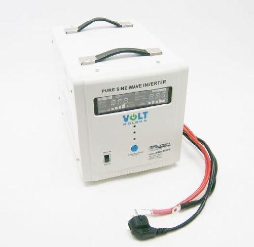 Záložní zdroj ZZ26 1050W/230V sinus Připojení baterie: výchozí - oko na kabelu