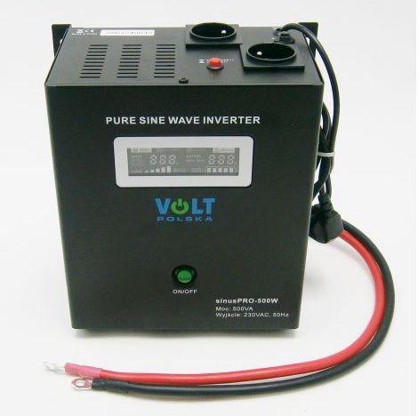 Záložní zdroj ZZ40 300W/230V sinus MALAPA Připojení baterie: výchozí - oko na kabelu