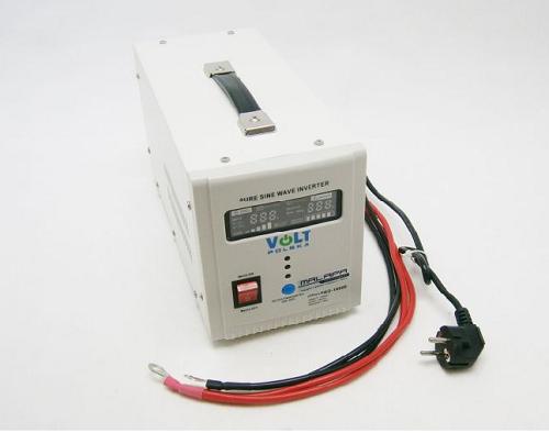 Záložní zdroj ZZ24 700W/230V sinus Připojení baterie: výchozí - oko na kabelu