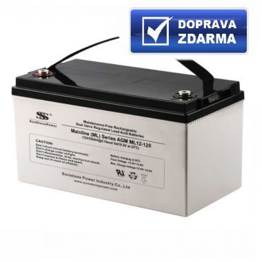 AGM akumulátor 12V/120Ah Sunstone Power ML12-120