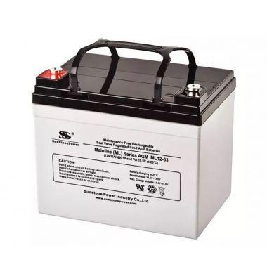 AGM akumulátor 12V/33Ah Sunstone Power ML12-33