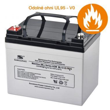 AGM akumulátor 12V/35Ah Sunstone Power ML12-35 FRVO