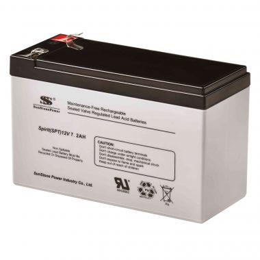 AGM akumulátor 12V/7,2Ah Sunstone Power SPT12-7.2