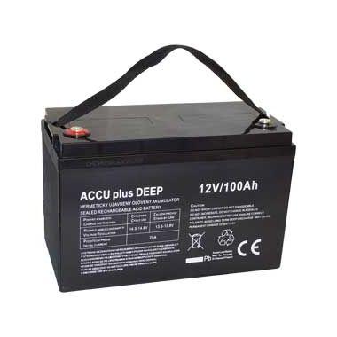 Akumulátor 12V / 100Ah - ACCU plus DEEP - bezúdržbový olověný