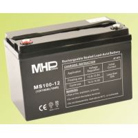 Pb akumulátor MHPower VRLA AGM 12V/100Ah (MS100-12), Terminál T3 - M8