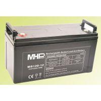 Pb akumulátor MHPower VRLA AGM 12V/120Ah (MS120-12), Terminál T2 - M8