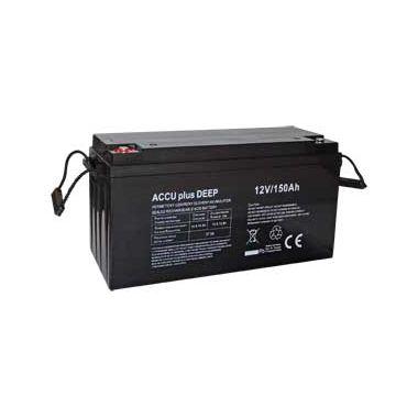 Akumulátor 12V / 150Ah - ACCU plus DEEP - bezúdržbový olověný
