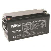 Pb akumulátor MHPower VRLA AGM 12V/150Ah (MS150-12), Terminál T3 - M8