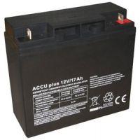 Akumulátor 12V / 17Ah - ACCU plus DEEP - bezúdržbový olověný