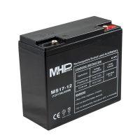 Pb akumulátor MHPower VRLA AGM 12V/17Ah (MS17-12), Terminál T1 - M6