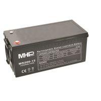 Pb akumulátor MHPower VRLA AGM 12V/200Ah (MS200-12), Terminál T3 - M8