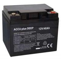 Akumulátor 12V / 40Ah - ACCU plus DEEP - bezúdržbový olověný