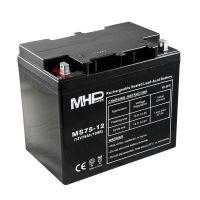Pb akumulátor MHPower VRLA AGM 12V/75Ah (MS75-12), Terminál B4 - 8