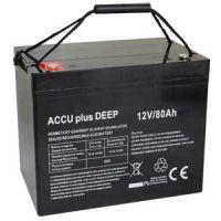 Akumulátor 12V / 80Ah - ACCU plus DEEP - bezúdržbový olověný