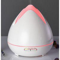 Aroma difuzér HD-02, bílý - ultrazvukový, 7 barev LED