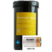Deramax-Dual-plašič krtků + baterie - rozbaleno