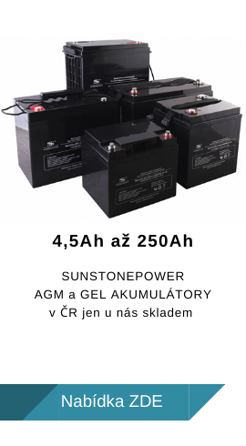 Akumulátory SunstonePower skladem!
