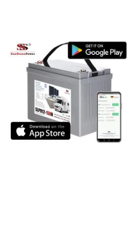 LiFePo4 baterie Sunstone Power řady SLPO12 s blueetooth