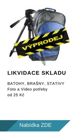 Likvidace skladu Foto a Video příslušenství