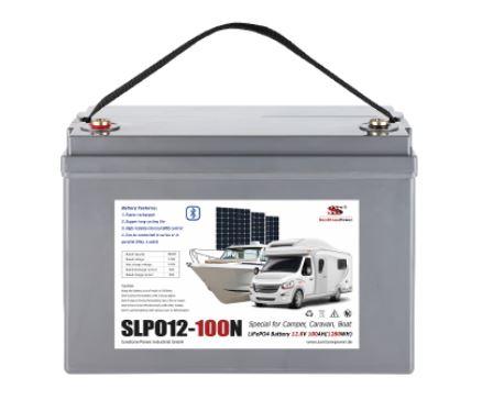 Pohled na baterii SLPO12-150N