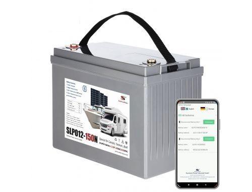 Vlastnosti LiFePo4 baterií SunStone Power řady SLPO12