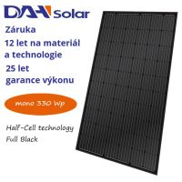 FV panel 330W DAH solar HCM60X9 FULL BLACK