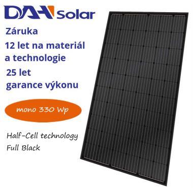 FV panel 330W DAH solar HCM60X9 Full Black