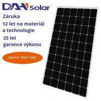 FV panel 360W DAH solar DHM72
