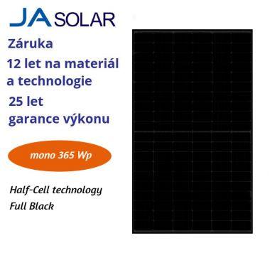 FV panel 365W JA solar JAM60S21 FULL BLACK