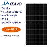 FV panel 450W JA solar JAM72S20