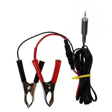 Kablík pro připojení zvukového odpuzovače ptáků k 12V akumulátoru