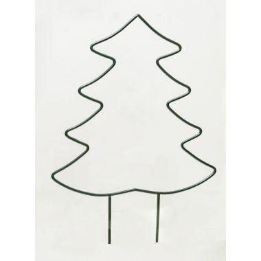 Kovová silueta stromku, 75cm