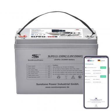 LiFePO4 Baterie 12V/150Ah Sunstone Power SLPO12-150N