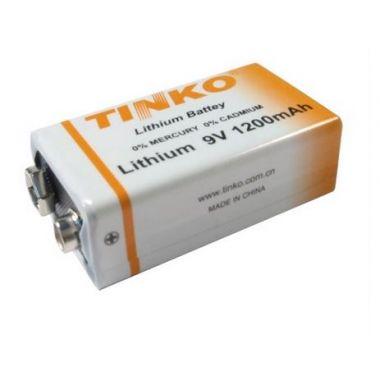 Lithiová baterie 9V, 1200mAh
