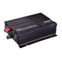 Měnič napětí CAR1.6KU-12, 12V/230V+USB 1600W, modifikovaná sinus