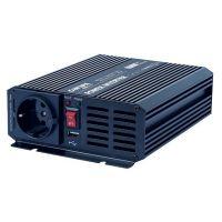 Měnič napětí Carspa CAR800U-242 24V/230V+USB 800W, modifikovaná sinus
