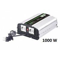 Měnič napětí CarSpa CPS1000 12V/230V, 1000W, nabíječka 10A