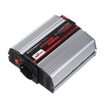 Měnič napětí Carspa MS400-242 24V/230V+USB 400W, modifikovaná sinus