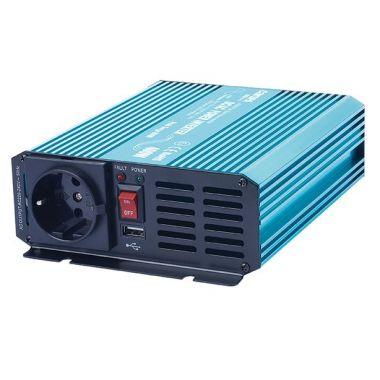 Měnič napětí Carspa P400U-242 24V/230V+USB 400W, čistá sinusovka