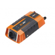 Měnič napětí Carspa PID600-12 12V/230V+2xUSB 600W, modifikovaná sinus, digitální display, vhodný do auta