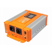 Měnič napětí Carspa PX1200-12, 12V/230V+USB 1200W čistá sinusovka