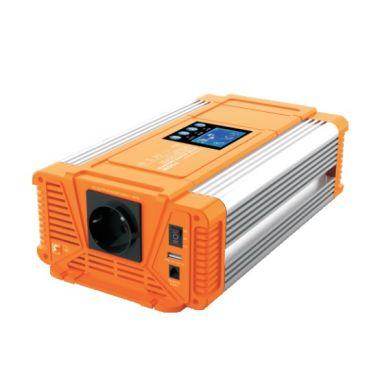 Měnič napětí Carspa PX700-12, 12V/230V+USB 700W čistá sinusovka