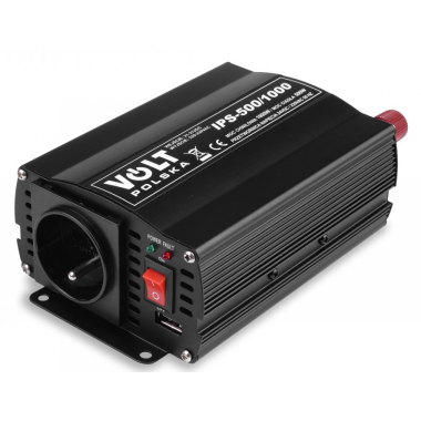 Měnič napětí VOLT IPS 500 - 24V/230V+USB (350/500W) modifikovaná sinus