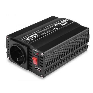 Měnič napětí VOLT IPS 500 PLUS - 24V/230V+USB (300/500W) modifikovaná sinus